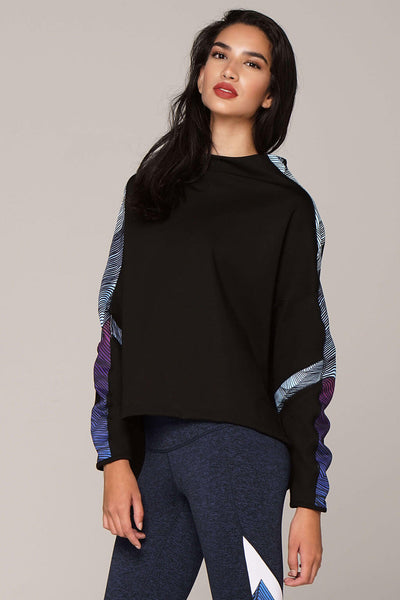 yoga Tops by Yogavated Athletic Apparel Summit Divine Pull-Over