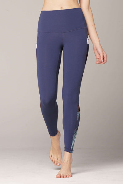 yoga Leggings by Yogavated Athletic Apparel Summit Sections Legging
