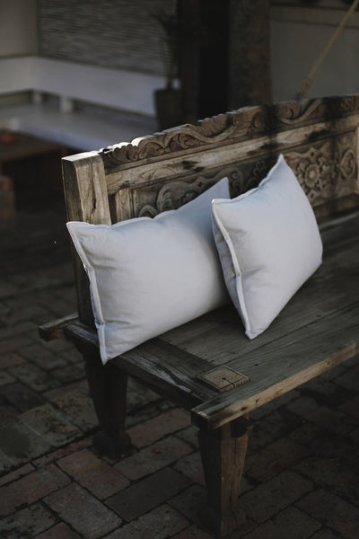 Dove Linen Scatter Cushion