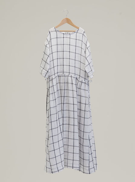 Limited Edition: Sahara Dress in Windowpane Check