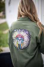 Skeleton Indian Military Jacket