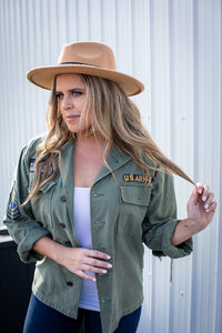 Ray of Sunshine Military Jacket