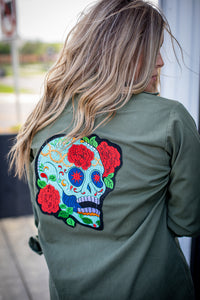 Day of the Dead Military Jacket