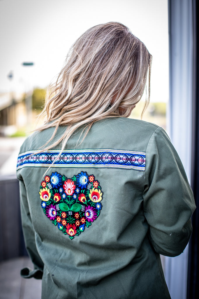 Frida Heart Military Jacket