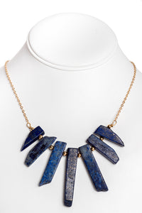Lapis Aztec Necklace