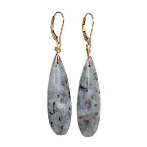 Ocean Jasper Teardrop Earrings