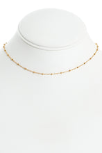 Dainty Beaded Choker