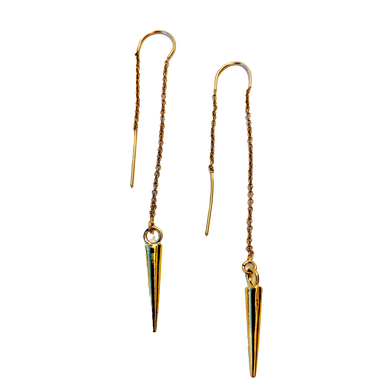 Spike Thread Earrings