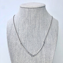 Hammered V Necklace
