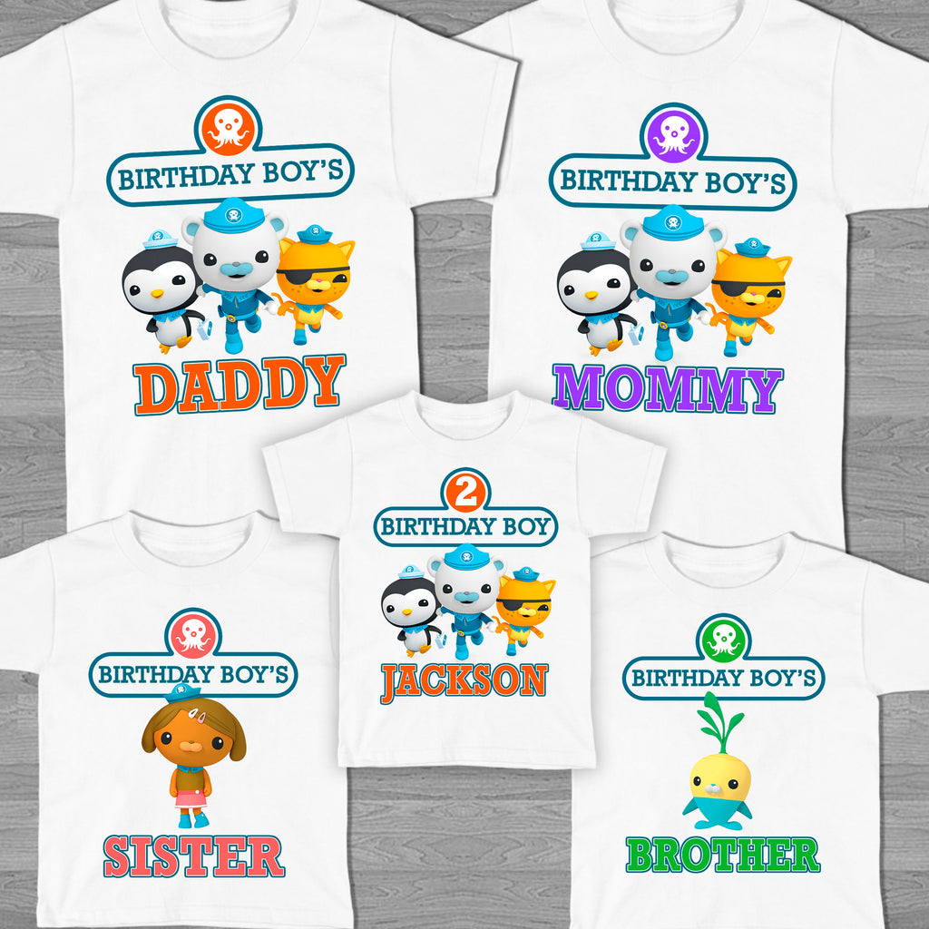 Customized Birthday Shirts For Babies