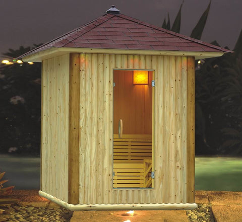 Outdoor Traditional Sauna