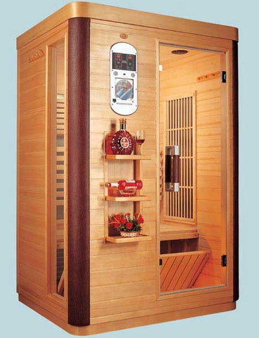 Two Person Deluxe Infrared Sauna