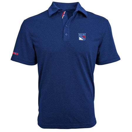 NHL Washington Capitals Adult Men's Dart Affirmed Polo, Navy, X-Large