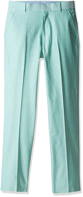 Tommy Hilfiger Big Boy's Oxford Pant, Green, 16 - U.S. Retail Products