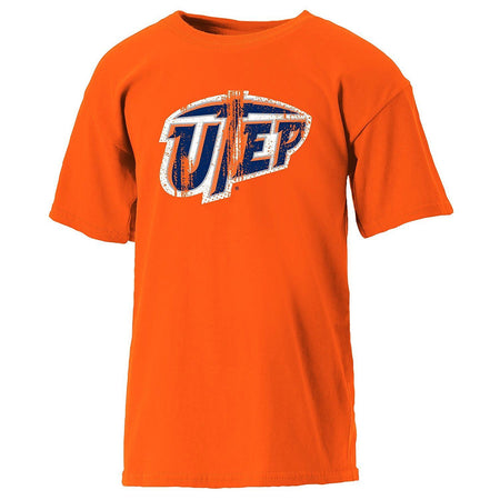 NCAA Texas El Paso Miners Youth Short Sleeve Tee, Athletic Orange, Small - U.S. Retail Products