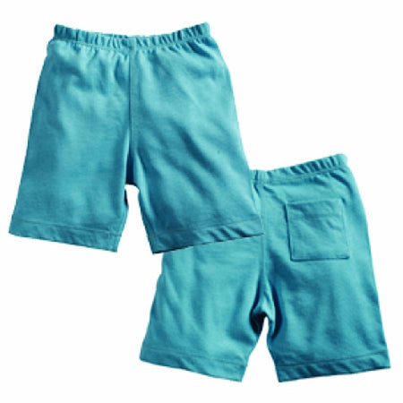 Babysoy Soft Shorts , Ocean, 6-12 Months