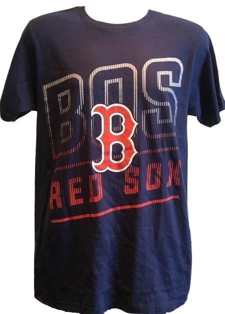 Men's Genuine Merchandise Boston Red Socks T-Shirt, Navy, Large