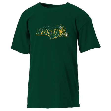 NCAA North Dakota Youth Short Sleeve Tee, Athletic Hunter, Small (7/8) - U.S. Retail Products