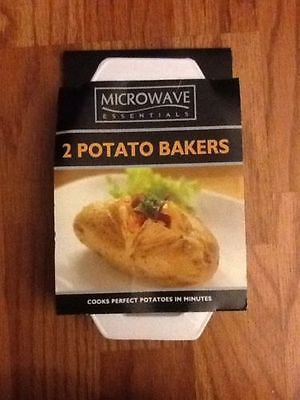 Microwave Essentials  2-Pack Microwave Potato Bakers