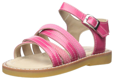 Elephantito 5026 Crossed Sandal (Toddler/Little Kid), Hot Pink, 8 M US Toddler