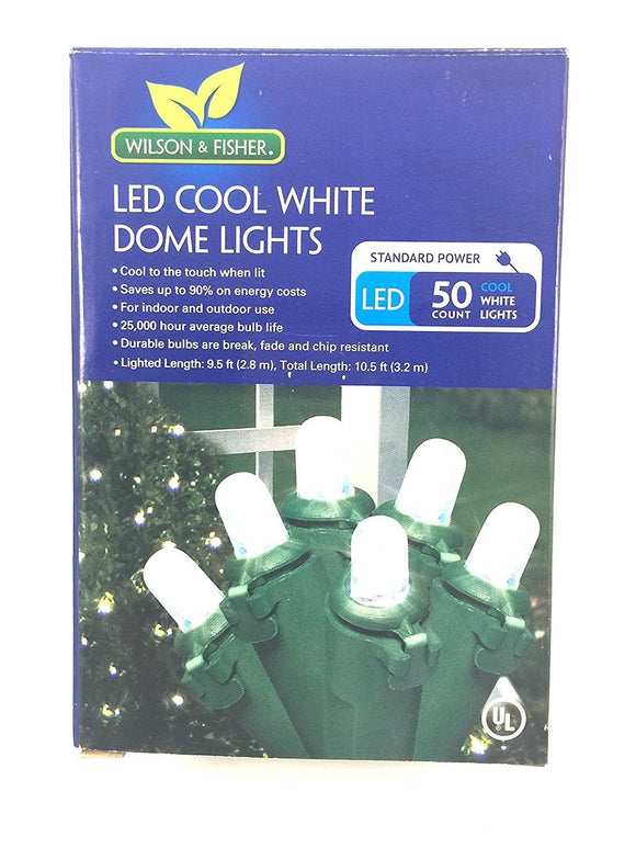Wilson & Fisher LED Cool White Dome Lights