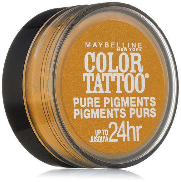 Maybelline Eye Studio Color Tattoo Pure Pigments, 25 Wild Gold
