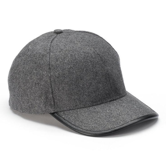 Sonoma Goods for Life Women's Wool Baseball Hat, Gray