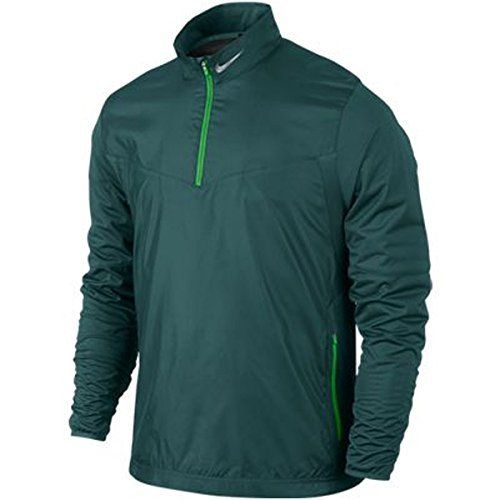 Nike Golf Shield 1/2-Zip Top, Dark Emerald, Large