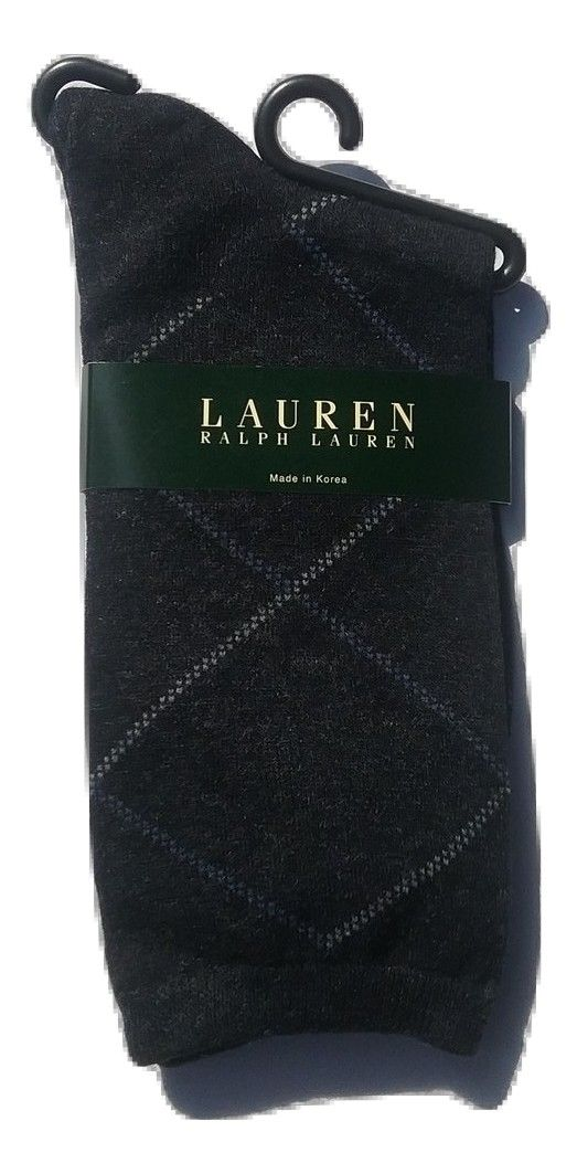 Polo Ralph Lauren Men's Dress Socks, Navy, 9-11