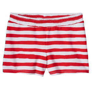 Girls Jumping Beans Patriotic Smocked Shorts, Red/White, 6