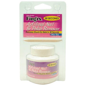 FING'RS 30 Second! Artificial Nail & Polish Remover