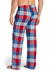 Jockey Men's Sleepwear Plaid Flannel Pant, Red Plaid, Medium - U.S. Retail Products