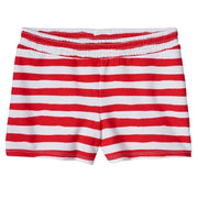 Girls Jumping Beans Patriotic Smocked Shorts, Red/White, 5 - U.S. Retail Products