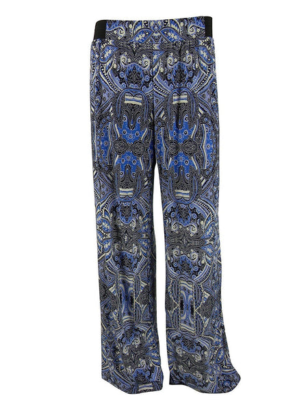 Inc International Concepts Printed Wide-leg Soft Pants, Calligraphy Paisley, L - U.S. Retail Products