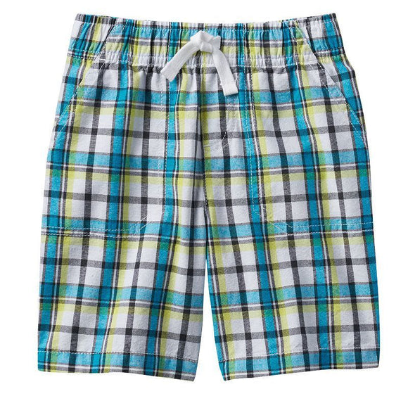 Baby Boy Jumping Beans Patterned Shorts, 3