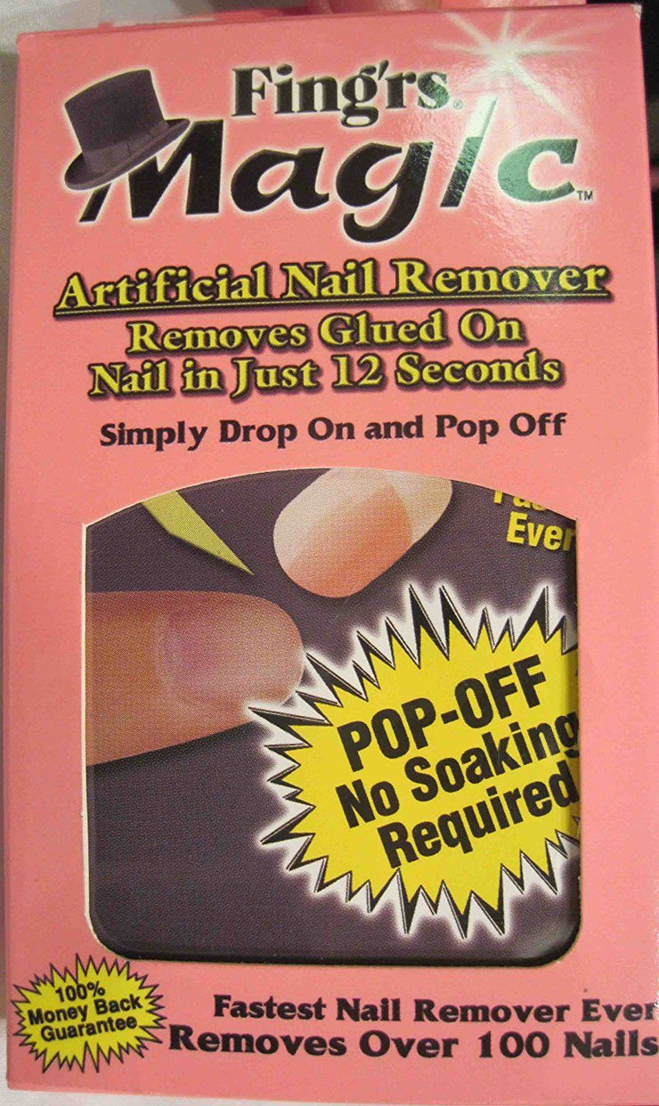 Fing'rs Magic Artificial Nail Remover in Just 12 Seconds - U.S. Retail Products