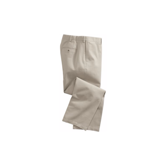 Cabela's Women's Care-Free Cotton Chinos, Stone, Size 10, Unhemmed