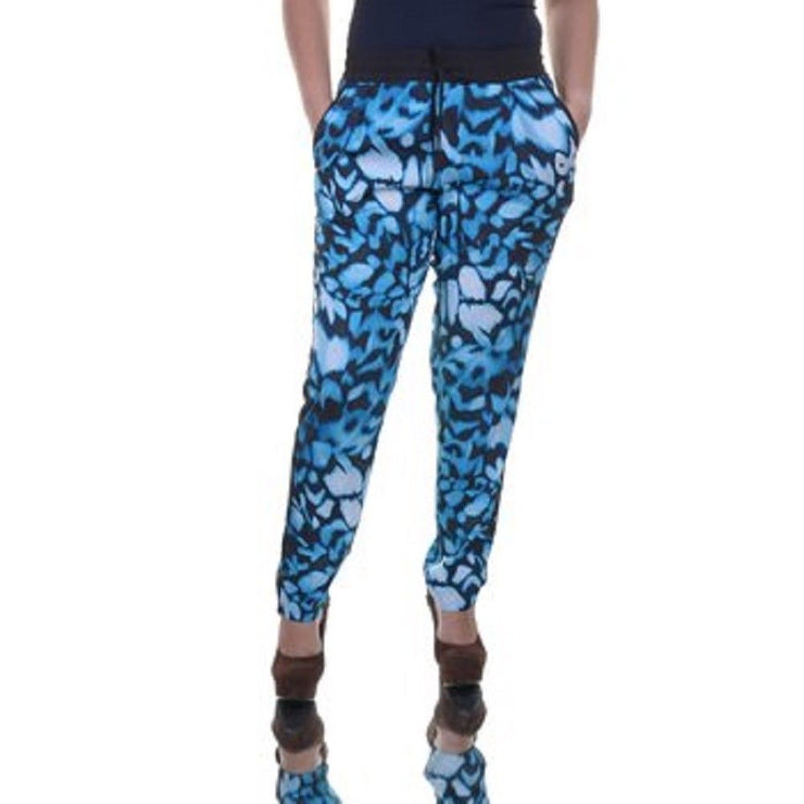 Calvin Klein Women's Tapered Pants, Butterfly Print, Medium - U.S. Retail Products