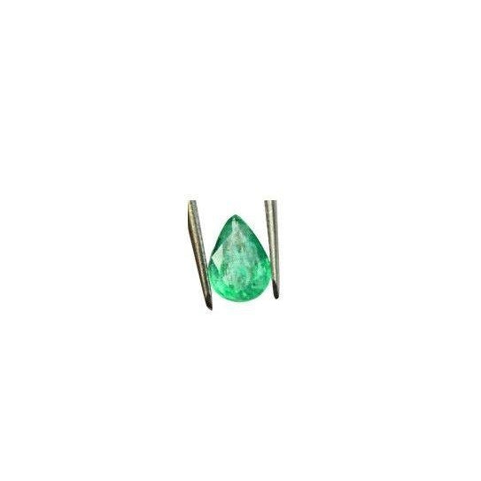 1.00 ct. Natural Emerald Pear Untreated Translucent Loose Gemstone From Zambia