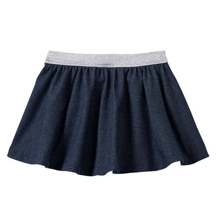 Jumping Beans Skort, Toddler Girl, Dark Denim, 3T