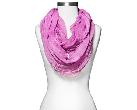 Women's Merona Sequin Stripe Infinity Scarf, Lilac - U.S. Retail Products