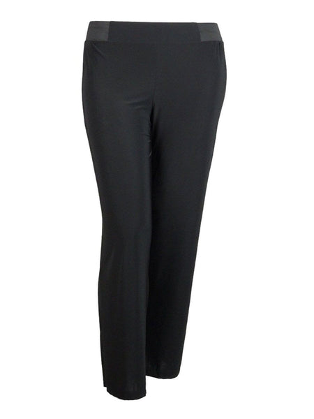 Inc International Concepts Petite Wide-leg Pull-on Pants, Deep Black, PM (6P-8P) - U.S. Retail Products