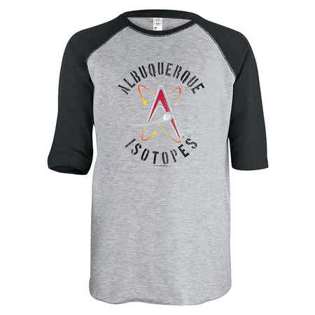 Minor League Baseball Albuquerque Isotopes Raglan Shirt, Black, Youth's X-Large - U.S. Retail Products