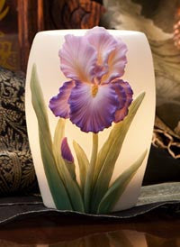 Purple Iris Night Light