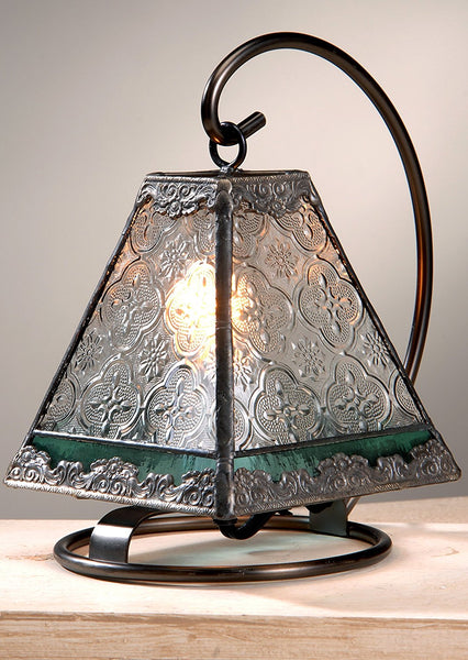 Vintage and Sage Mini Lamp