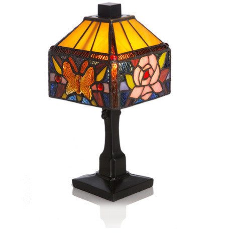 Butterfly Rose Lamp