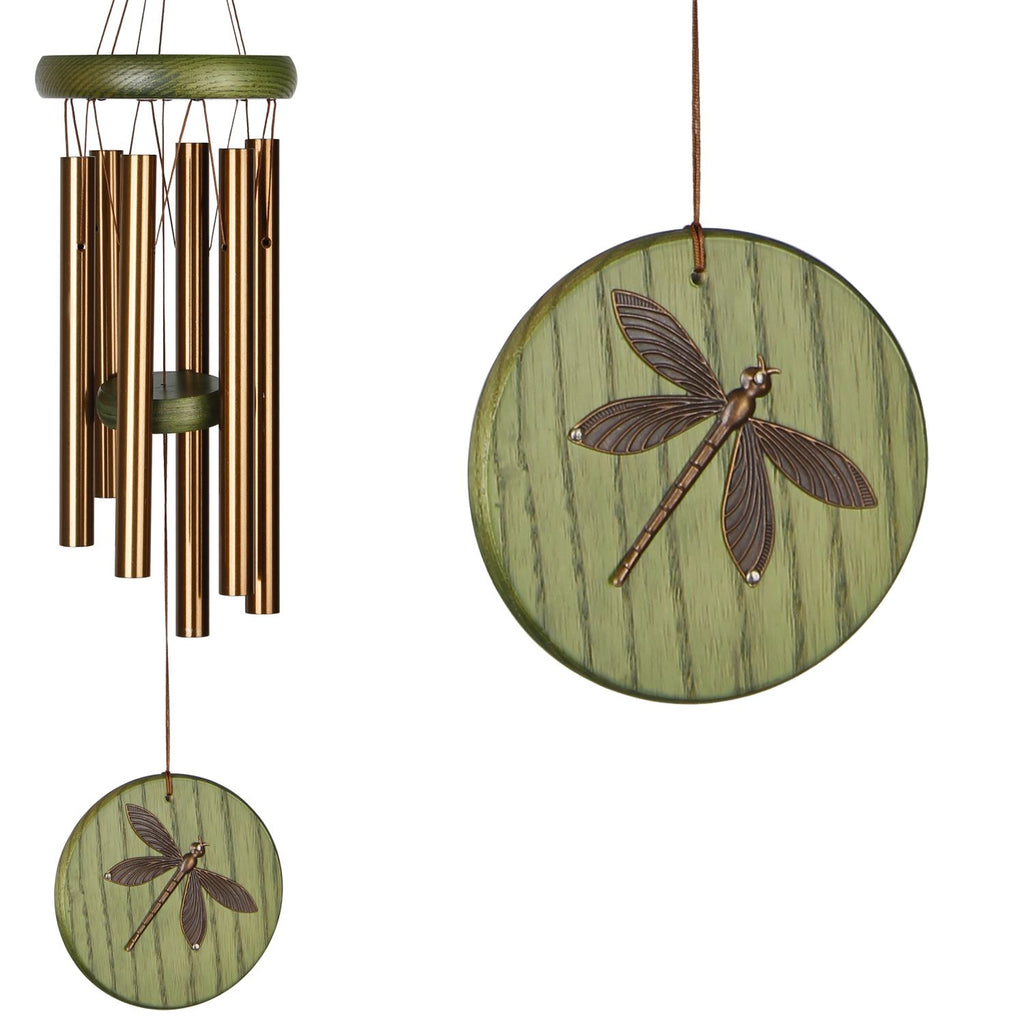 Habitats Chime - Green Dragonfly