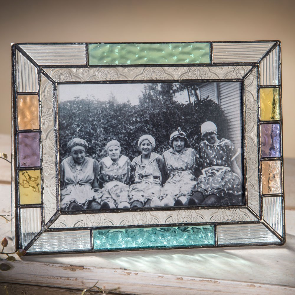 Multi Colored Glass Frame