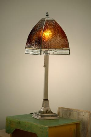 J Devlin Root Beer Table Lamp
