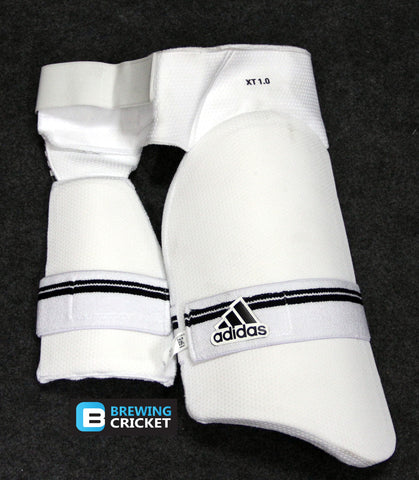Adidas XT 1.0 - White Dual Thigh Guard